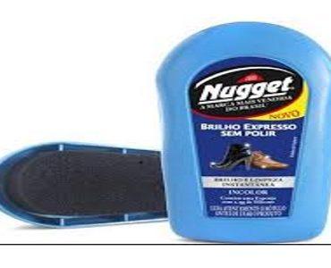 c133fea26 Pasta para Sapatos NUGGET Incolor 36g - Alphamercado