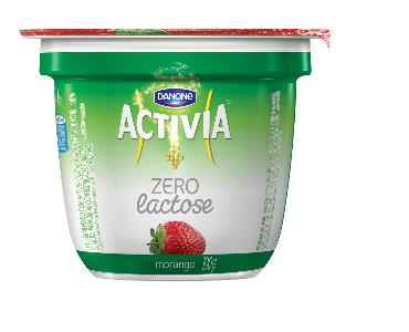Activia zero lactose morango 100g